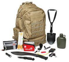 A Bug Out Bag is intended to get you through the first few days of a scenario, be that zombies or wildfires. Your Bug Out Bag helps you get to the point where you can make it to a safe location or wait it out until emergency relief shows up.