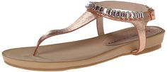 Chinese Laundry Women's Flash Back Metall Dress Sandal - Favorite Summer Sandals #fashion #summer2015