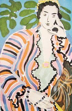 fauvisme expressionnisme ₪ henri matisse   (le cateau-cambrésis, france I869 † nice I954)   art palette couleur peinture aquarelle (watercolor painting)