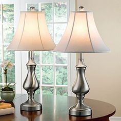 Perfect touch lamps for bedside tables!