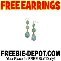 ►► FREE Pair of Drop Earrings ►► #Free, #FreeJewelry, #FREEStuff, #Freebie, #Frugal ►►