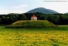 native american burial mounds | Photo of Native American| Mississippian burial mound in the Nacoochee ...