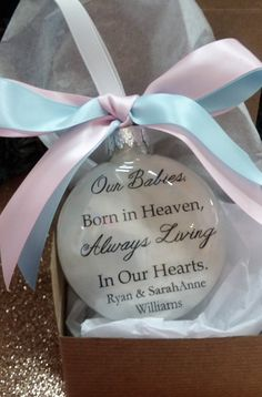 Miscarriage Memorial Ornament Never Held You In My Arms In