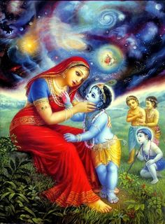 Lord Krishna is adored by children and grown-ups alike in India. Here are 10 childhood stories of Sri Krishna that children will love listening to. Radha Krishna Pictures, Lord Krishna Images, Radha Krishna Photo, Krishna Art, Krishna Book, Hare Krishna, Krishna Lila, Krishna Janmashtami, Yashoda Krishna
