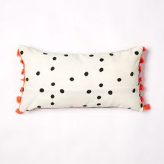 about details Our Simmi Spot Cushion is one of the smallest in the collection, but good things come in small packages right? It's perfect for little girls rooms Big People, Little People, Little Girl Rooms, Little Girls, Bed Pillows, Cushions, Soda, Printing On Fabric, Stitch