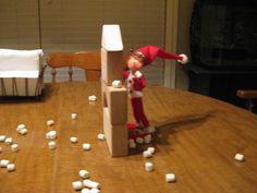 the other elf A Shelf, Elf On The Shelf, Shelves, Shelf Ideas, Holiday Decor, Home Decor, Shelving, Decoration Home, Room Decor