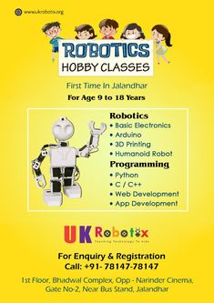 ROBOTICS CLASSES AFTER SCHOOL FOR KIDS AND SUMMER CAMP IN SURREY
