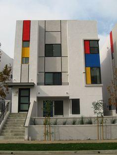 Mondrian houses