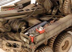 M1A1 American 6x6 Heavy Wrecker 1/18 Scale Model