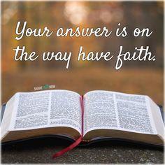 God and Jesus Christ:Your answer is on the way have faith. Jesus Is Life, Jesus Faith, Jesus Loves You, God Jesus, Jesus Christ, Savior, Faith Hope Love, Have Faith, Faith Walk