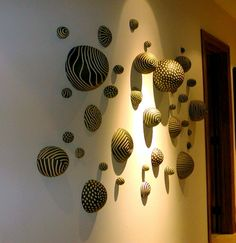 Custom Made Ceramic Wall Installation