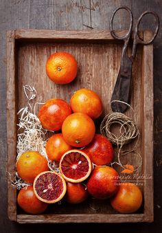 Blood Oranges | by Natalia Lisovskaya, via 500px
