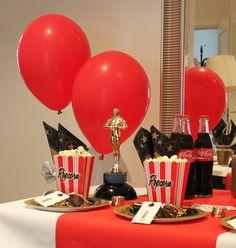 Kids birthday party with movie theme -  Leffasynttärit