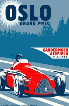 Automobilismo » Automobilismo e Afins :: Old Posters