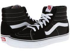 Vans SK8-Hi Core Classics (Black/White) Shoes