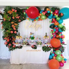 Moana Birthday Party Ideas Popsugar Family intended for Muana Birthday Party - Party Supplies Ideas Moana Birthday Party Supplies, Moana Birthday Party Theme, Birthday Party Images, Moana Themed Party, Birthday Party Decorations, Moana Party Decorations, Birthday Ideas, Party Favors, Hawaiian Birthday