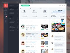 Product Dashboard, Activity Feed UI/UX by Mason Yarnell
