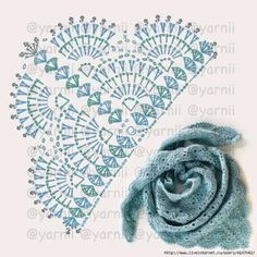 New Ideas crochet poncho patrones charts Crochet Shawl Diagram, Crochet Poncho Patterns, Crochet Motifs, Crochet Shawls And Wraps, Crochet Chart, Crochet Scarves, Crochet Clothes, Knitting Patterns, Shawl Patterns