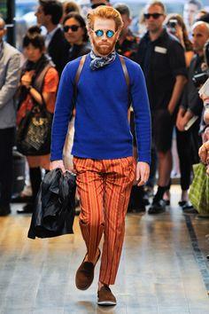 Summer Scarves: Men's Spring Fashion Trend: Fashion Shows: GQ