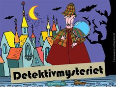 """Skattjakt: Detektivmysteriet 4-6 årFixa  mysteriekalas! I Småköping härjar den ökända boven """"Skuggan"""" och där  händer mystiska saker - värdefulla böcker försvinner från biblioteket.  Stadens klantiga detektiv Fingal Finn antar utmaningen att hitta  böckerna, men bibliotekarien Bella Blädder vet bättre och ber istället  barnen hjälpa till - och hon utlyser en belöning till dem som kan hitta  de försvunna böckerna!"""