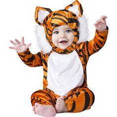 "Baby Boy Infant Plush ""Teeny Tiger"" 2 piece Costume Set (…"