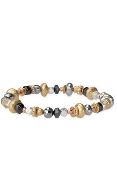 Create a layered look with a mixed metal, glass bead & rhinestone stretch bracelet by Stella & Dot. Find chic fashion bracelets, bangles, cuffs, wraps & more.