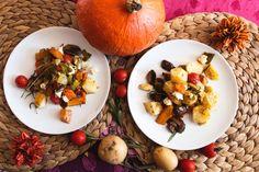 Ofengemüse mit Kürbis und Honig-Senf Marinade