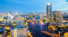 Bangkok is the most populous city in Thailand with 8.5 million inhabitants and the most cosmopolitan in Indochina.