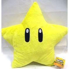 "Super Mario Brothers : Star Starman Plush - 11"""