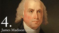 """James Madison - At his inauguration, James Madison, a small, wizened man, appeared old and worn; Washington Irving described him as """"but a withered little apple-John."""" But whatever his deficiencies in charm, Madison's buxom wife Dolley compensated for them with her warmth and gaiety. She was the toast of Washington."""