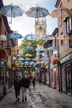 York, England York England, Great Britain, Street View, Places, Photography, Umbrellas, Photograph, Photo Shoot, Fotografie