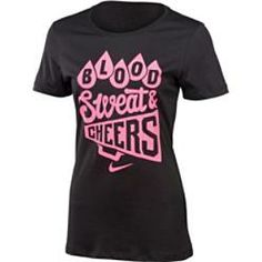 Nike Women's Blood, Sweat and Cheers T-Shirt | TeamExpress.com