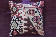Antique kilim pillow cover,Turkish Cushion,High quality Kilim Pillow,sofa pillow #Turkish