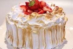 Aardbeien-slagroomtaart Rudolfs Bakery, Bakery Kitchen, Cake Cookies, Cupcake Cakes, Cupcakes, Pie Dessert, Cookie Desserts, Dutch Recipes, Strawberry Cakes