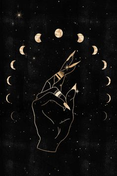 Witchy Wallpaper, Trendy Wallpaper, Wallpaper Iphone Cute, Cute Wallpapers, Goddess Art, Moon Goddess, Room Wall Painting, Blank Space, Poster Prints