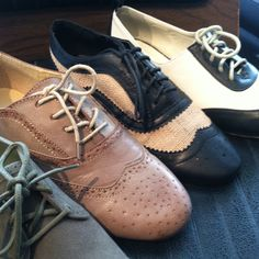 Always wanted a pair of Oxfords.