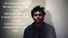 The Weeknd Earned it lyrics video - YouTube