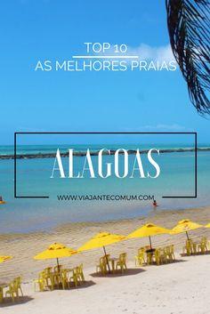 As melhores praias do litoral alagoano! Na zona urbana, no litoral norte e no litoral sul! E muitos passeios que dá pra ir e voltar no mesmo dia saindo de Maceió.