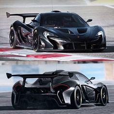 McLaren P1 GTR...