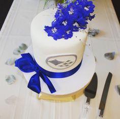 Our wedding cake! Natasha and Anthony 5.30.15