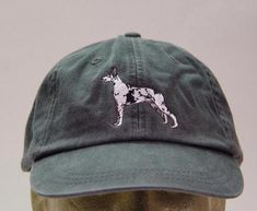 Harlequin Great Dane Dog Hat - Embroidered Men Women Baseball Cap - Price Embroidery Apparel - 24 Color Adult Mom Dad Gift Caps Available Harlequin Great Danes, Blue Great Danes, Cheap Dog Food, High Quality Dog Food, How To Wash Hats, Great Dane Puppy, Embroidery On Clothes, Grey Hound Dog