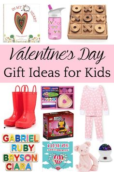 Valentine's Day Gift Ideas for Kids | A round-up of the best Valentine's Day gift ideas for him, her, and kids and for all price ranges.
