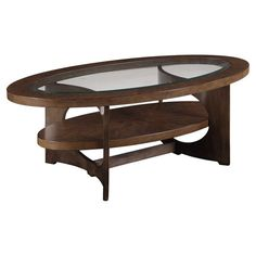 Alvis Oval Coffee Table at Joss & Main