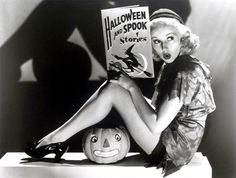 Scary Stories and Halloween Pin Ups