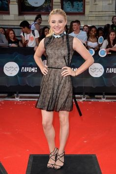 Fabulously Spotted: Chloe Moretz Wearing Marios Schwab - MuchMusic Awards 2014 - http://www.becauseiamfabulous.com/2014/06/chloe-moretz-wearing-marios-schwab-muchmusic-awards-2014/