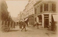 Langestraat Alkmaar (jaartal: Voor 1900) - Foto's SERC