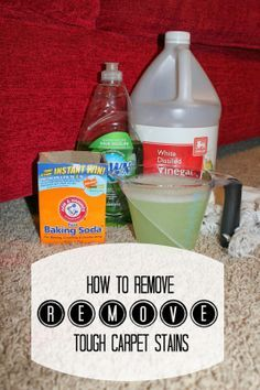 Harris Sisters GirlTalk: How to Remove Tough Carpet Stains I am going to try this