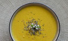 Σούπα Βελουτέ με Μπρόκολο & Γλυκοπατάτα_sticky Vegan, Ethnic Recipes, Food, Hands, Essen, Meals, Vegans, Yemek, Eten