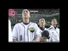 SNSD Seohyun, Sunny & Yuri singing South Korea's national anthem