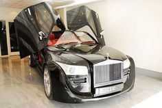 Luxury Car of Rolls Royce Phantom DC Concept